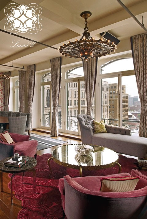 Interior Design By Laura U Soho New York Living Room