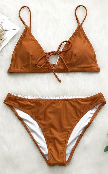 e010669a306f79 BONDI BEACH SOLID TRIANGLE BIKINI | Women's Swimsuits | Bikinis ...