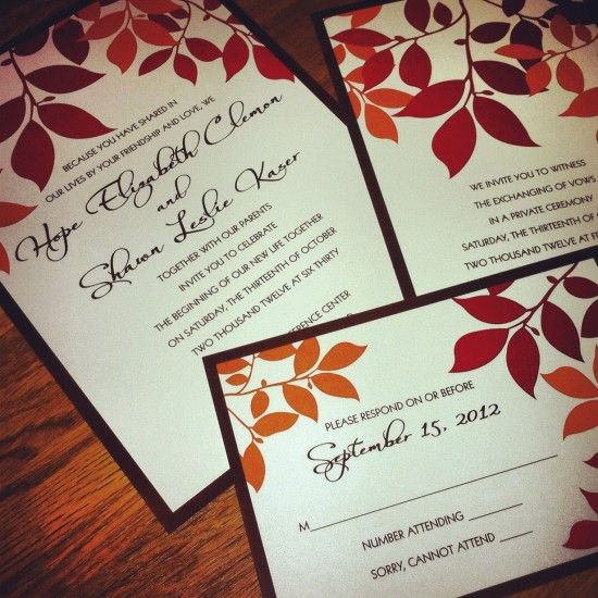 Fall Themed Wedding Invitations: 33 Best Ideas For Hail/farewell Images On Pinterest