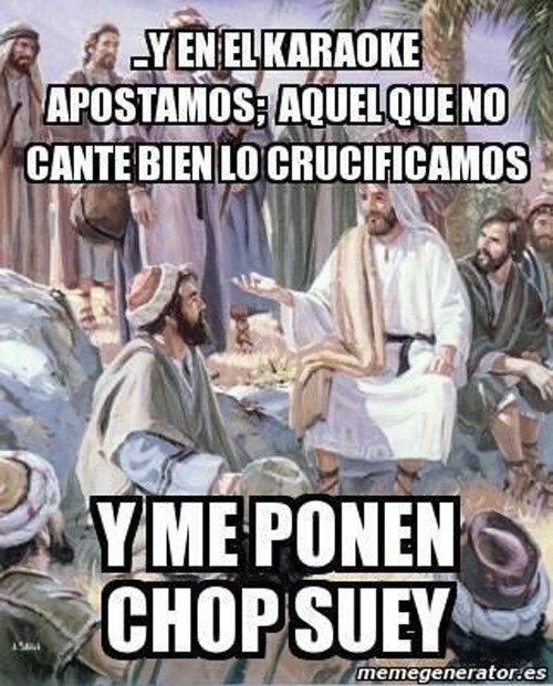 Jesús echando cuentos.