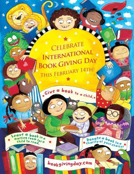 international-book-giving-day-poster-by-priya-kuriyan - February 14