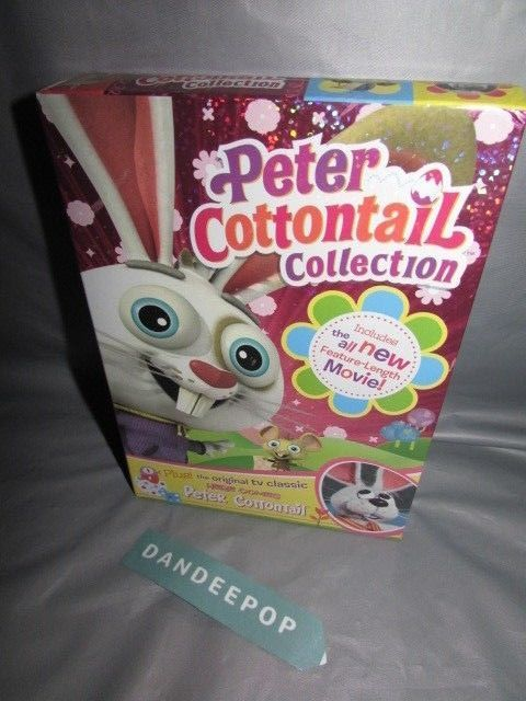 Here Comes Peter Cottontail/Here Comes Peter Cottontail: The Movie Two Pack (DVD #herecomespetercottontailcollection #petercottontail #movies #easter #bunny #dandeepop Find me at dandeepop.com