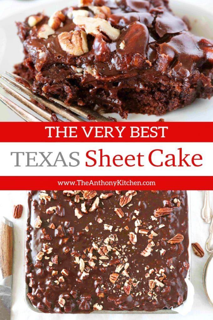 Original Texas Sheet Cake Recipe With Buttermilk Recipe Texas Sheet Cake Recipe Sheet Cake Recipes Buttermilk Recipes