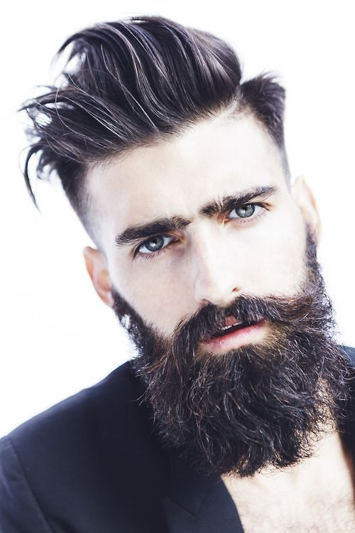 Hairstyles For Men With Beards 48 Best Bearded And Sexy Images On Pinterest  Gentleman Fashion