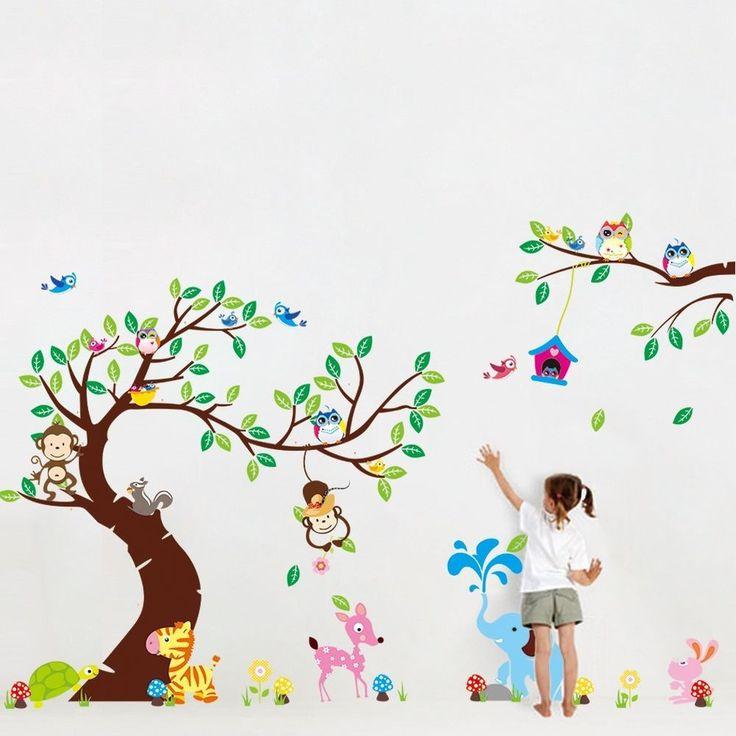 best 25+ wandtattoo kinderzimmer tiere ideas on pinterest