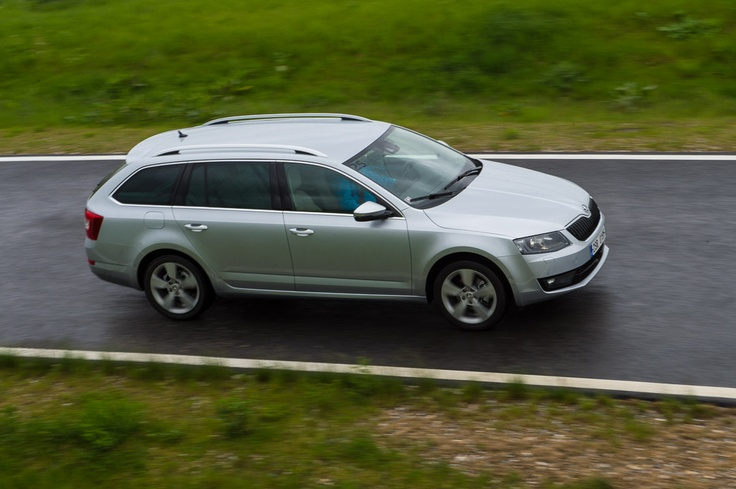 The new 2013 Skoda Octavia Combi