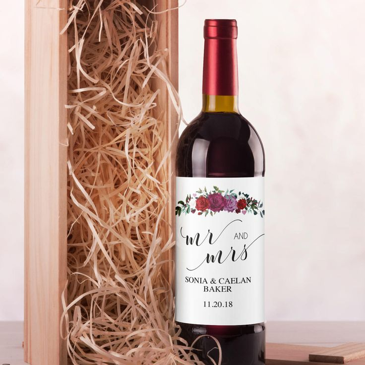 The  Best Personalised Wine Labels Ideas On