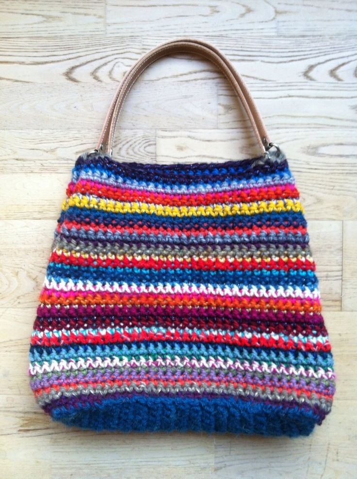 "sac au crochet ""1 000 couleurs"" #tuto #french"