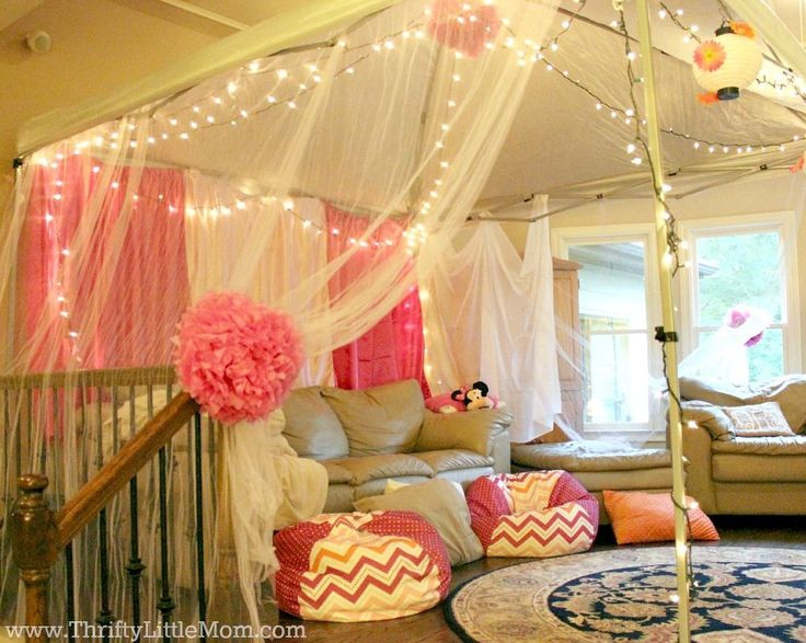 Indoor Party Tent Side View