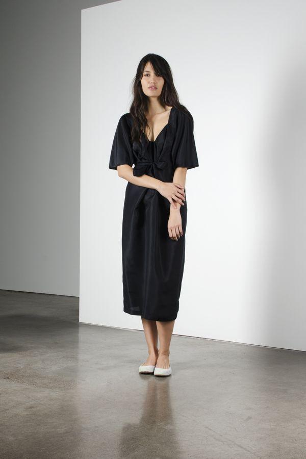 Origami dress - Black