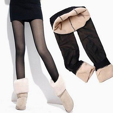 [CyberMondaySale]kvinders dobbeltlaget stejle effekt leggings – DKK kr. 31