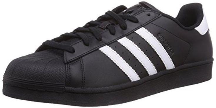 adidas Originals Superstar Foundation B27140 adulte (homme ou femme) Chaussures de sport, noir 49 EU grande taille #Basketmode #chaussures http://allurechaussure.com/adidas-originals-superstar-foundation-b27140-adulte-homme-ou-femme-chaussures-de-sport-noir-49-eu-grande-taille-6/