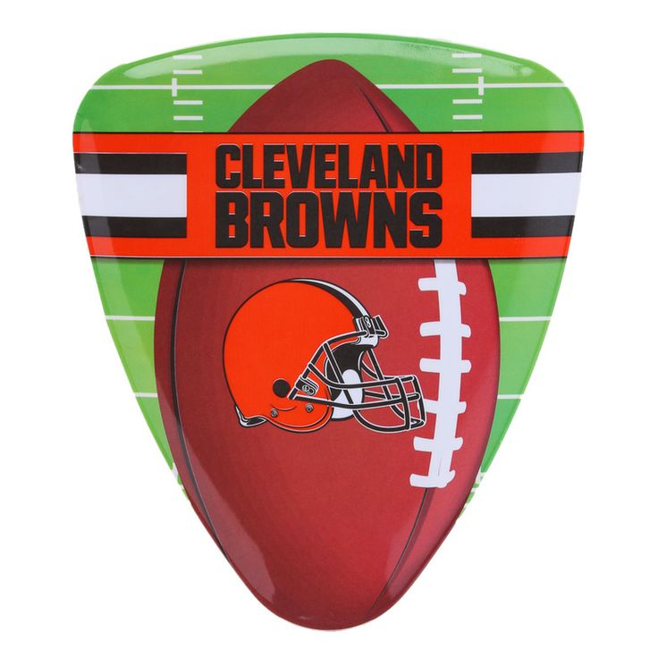 NFL Browns Pizza Plate