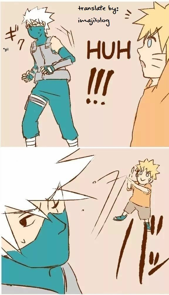 4 | Masa Kecil Naruto Bersama Ayah dan Kakak Kakashi