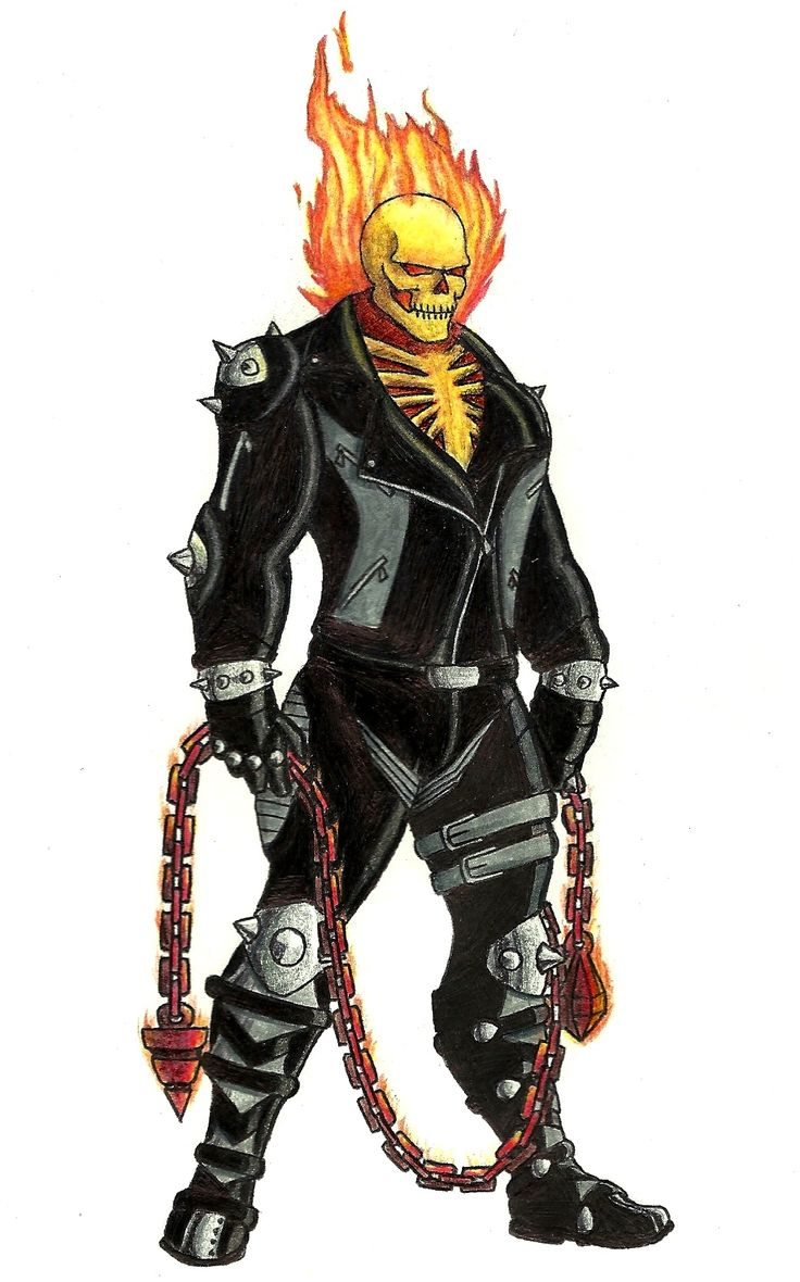 9 best Red ghost rider images on Pinterest
