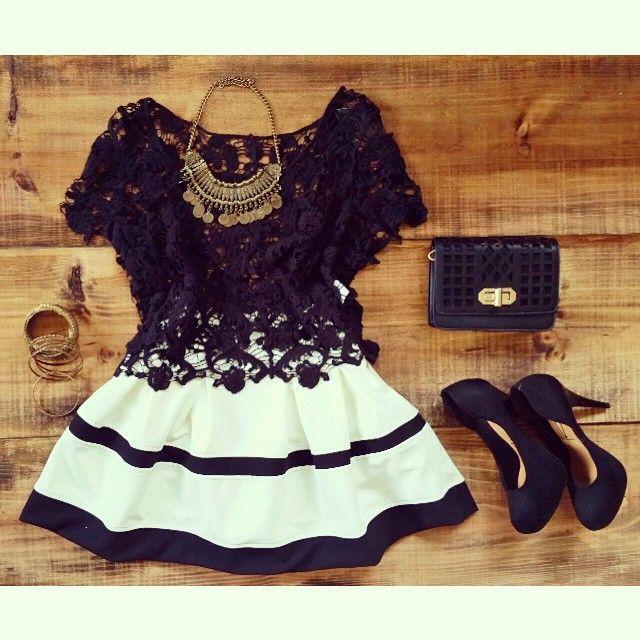 2015 new fashion dresses hollow out o-neck black short sleeve mini women casual dress