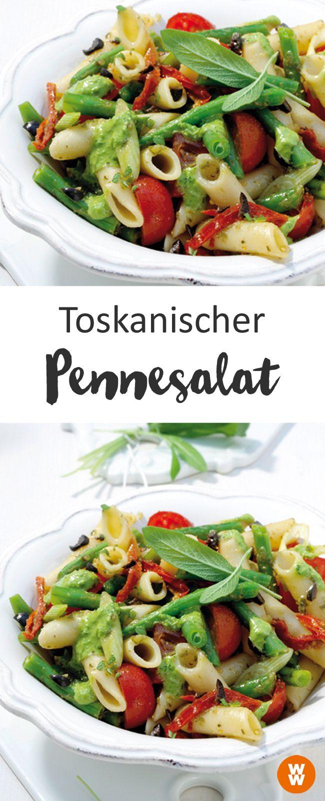 Toskanischer Pennesalat, Nudelsalat, Rezept | Weight Watchers