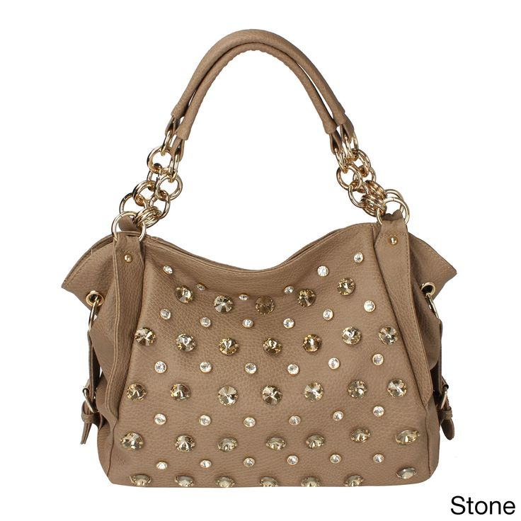 Oasis Handbag 'Tori' Studded Shoulder Hobo Bag