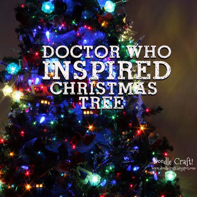 Doctor Who Inspired Christmas Tree!