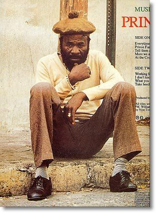 """He was born Michael James Williams in Spanish Town, Jamaica. Williams' first job in the music industry was as a deejay on the Sir Mike the Musical Dragon sound system,[2] also working as a security guard at Joe Gibbs' studio, and later as a bouncer at Studio One, but after recording """"The Great Booga Wooga"""" for Bunny Lee in 1969 (under the name King Cry Cry, a reference to his habit of breaking into tears when angered)"""