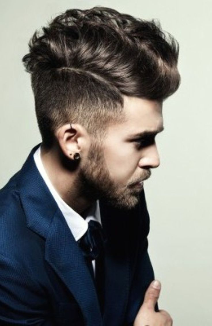 Best Hairstyles For Men With Thick Wavy Hair | Trend Hairstyle and ...