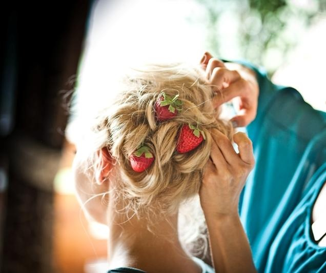Wedding in strawberry style!