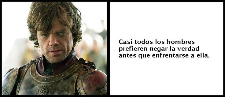 Frases de Tyrion Lannister Ilustradas (Game of Thrones)