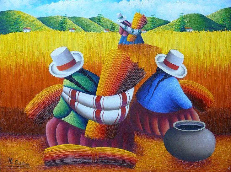 Resultado de imagen para cholita peruana dibujo
