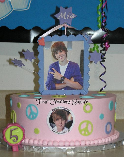 Justin Bieber Birthday Cake | Flickr - Photo Sharing!