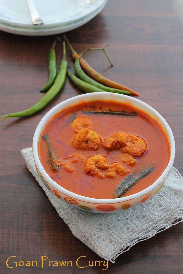 Goan Prawn Curry recipe, How to make Goan Prawn Curry:Popular and famous Goan Prawn Curry! My mouth starts salivating with my mom's prawns curry.