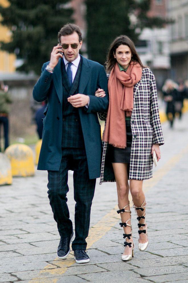 Уличная мода: Уличный стиль на неделе моды в Милане сезона осень-зима 2016-2017