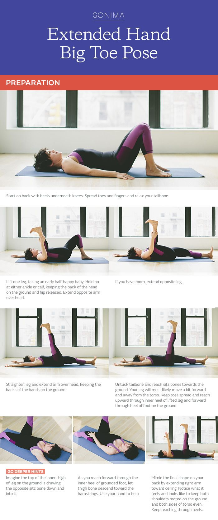 Building the Foundation for Extended Hand Big Toe Pose