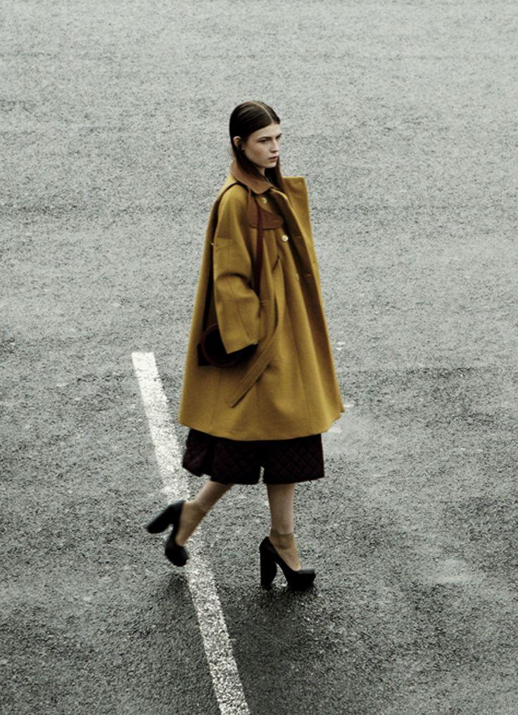 Yulia Serzhantova in Sleek #34 Summer 2012 by Schmidt & Gorges