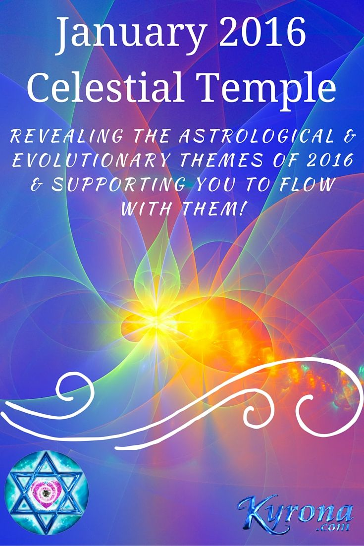 Discover the evolutionary themes for 2016 & how to flow with them! Attune to the astrological energies of January 2016. A light language transmission, teaching & astro overview! #astrology, #AstrologyJanuary2016, #StarPriestess, #CelestialTemple