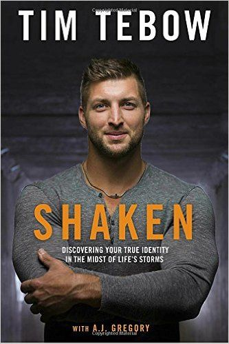 Shaken: Discovering Your True Identity in the Midst of Life's Storms: Who are you when life is steady? Who are you when storms come?   Most of us have been on the receiving end of rejection, a broken dream, or heartbreak. And while this is not an easy space to go through, when we are grounded in the truth, we can endure the tough times.   In this powerful book, Heisman Trophy winner Tim Tebow passionately shares glimpses of his journey
