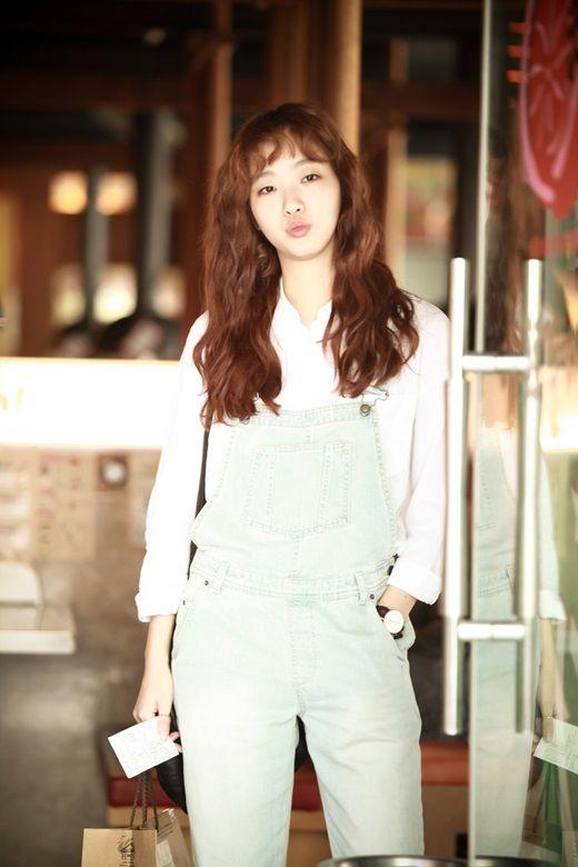 Kim Go Eun // Cheese in the Trap // I love her hair... She's so cute!