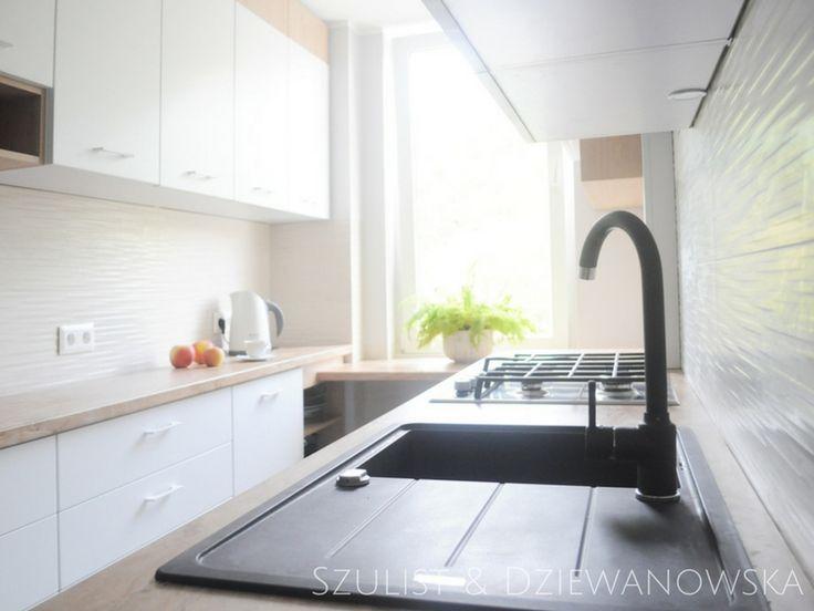 Projekt kuchni w Gdańsku #interiordesign #scandinavian #wnętrze #kuchnia #kitchen #design