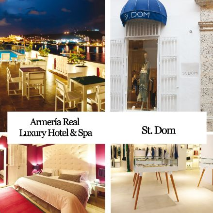 ARMERIA REAL LUXURY HOTEL & SPA y ST. DOM Cartagena.Colombia http://www.inkomoda.com/870/