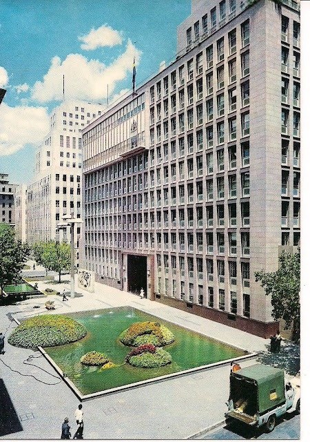#Johannesburg - (JSE) Johannesburg Stock Exchange in the 1960's (© http://chocolattnegro.blogspot.com/)