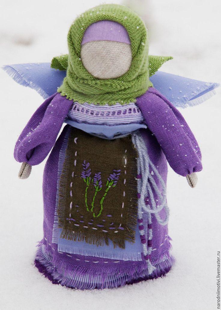 Купить или заказать Кукла Ангел  Нежная лаванда(сиреневый, зеленый, лавандовый)…