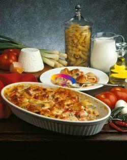 Mezze maniche ripiene al forno  #ricette #CucinareMeglio via @CucinareMeglio