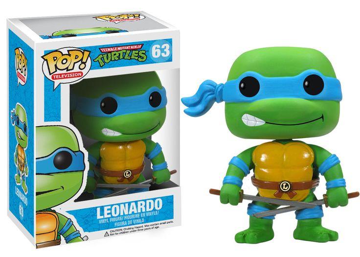 Funko POP! TV: Teenage Mutant Ninja Turtles - Leonardo