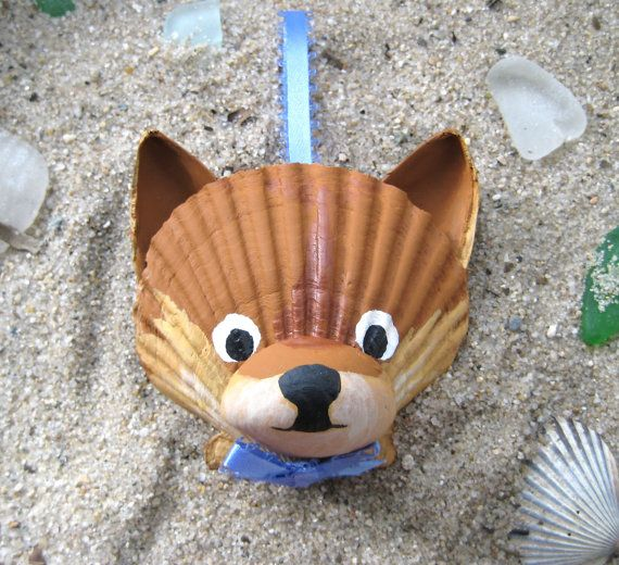Hey, I found this really awesome Etsy listing at https://www.etsy.com/listing/169666570/pomeranian-ornament-seashell-pomeranian
