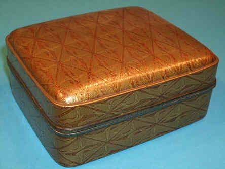 A Meiji Period Gold Lacquer Box