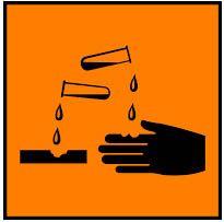Simbol Bahan Kimia Korosif