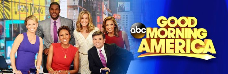 Sign up for free tickets to Good Morning America, available exclusively at 1iota.com.