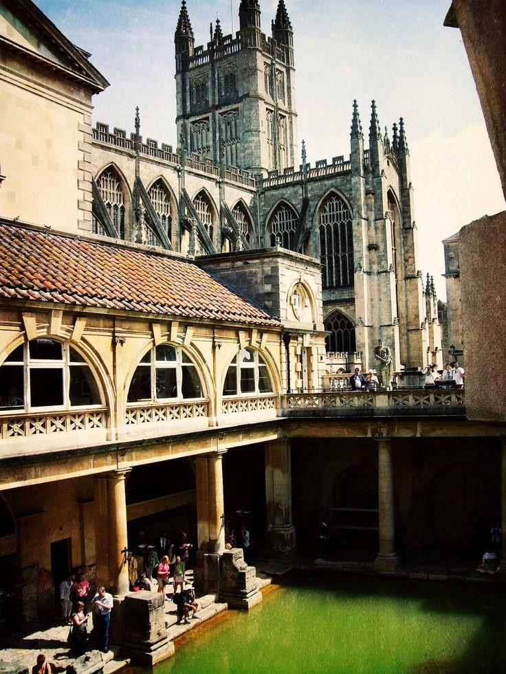 Baños Romanos En Bath: De Bath en Pinterest