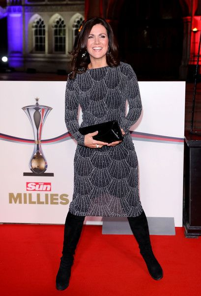 Susanna Reid attends The Sun Military Awards at The Guildhall on December 14, 2016 in London, England.