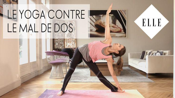 Pour lutter contre les douleurs au dos, rien de tel que le yoga ! Helène Duval vous propose une séance complète avec des exercices ciblés. Abonnez-vous à la ...