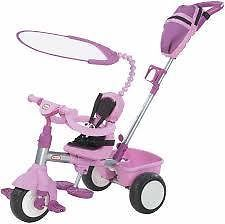 4 in 1 BASIC EDITION TRIKE - LITTLE TIKES - PINK -A bike to grow with your child